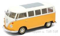Welly WEL22095Y VW T1/2b Bus gelb/creme