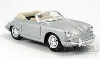 Welly WEL29390si Porsche 356B Cabrio silber