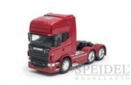 Welly WEL32760RED Scania R730 SZM 3a rot-met