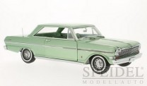 SunStar SUN3968 Chevrolet Nova grünmet. 1963