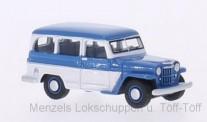 Speidel MCW BOS87010 Willys Jeep Station Wagon blau/weiß 1954