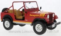 Speidel MCW MCG18110 Jeep CJ-7 Renegade rot 1980