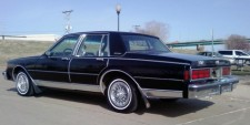 Speidel MCW MCG18113 Chevrolet Caprice schwarz 1987