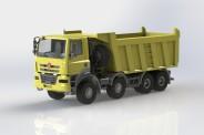 IGRA 66815000 Tatra Phoenix Muldenkipper E5 gelb