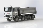 IGRA 66816000 Tatra Phoenix E6 Baukipper weiß