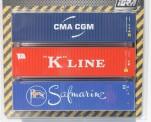 IGRA 98010003 Container-Set 40' 3-teilig