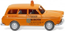 Wiking 004201 VW 1500 Variant W. Roth Notdienst