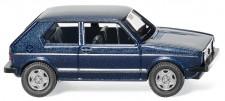Wiking 004502 VW Golf I GTI heliosblau met