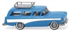 Wiking 007001 Opel Caravan '57 hellblau/weiß