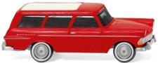 Wiking 007149 Opel Rekord Caravan rot 1961