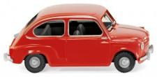 Wiking 009904 Fiat 600 rot