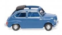 Wiking 009906 Fiat 600 brillantblau