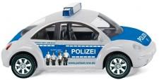 Wiking 010444 VW New Beetle Polizei NRW silber/blau
