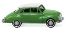 Wiking 012001 DKW Limousine maigrün/weiß