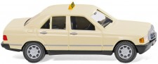 Wiking 014923 MB 190 E Lim. Taxi beige