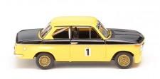 Wiking 018302 BMW 2002 ti Rennversion gelb/schwarz