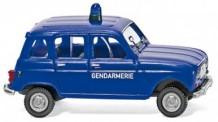 Wiking 022404 Renault R4 Gendarmerie