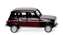 Wiking 022405 Renault R4 Parisienne schwarz/dunkelrot