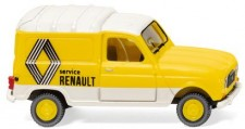 Wiking 022503 Renault R4 Kasten Renault Service