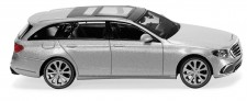 Wiking 022704 MB E-Klasse T-Modell iridiumsilbermet.