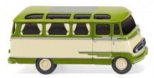 Wiking 026003 MB O309 Panoramabus beige/grün