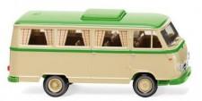 Wiking 027044 Borgward B611 Camper elfenbein/grün