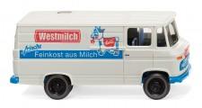 Wiking 027058 MB L406 Kasten Westmilch