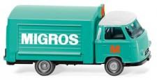 Wiking 027901 Borgward Verkaufswagen Migros