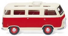 Wiking 028998 Ford FK1000 Panoramabus rot/beige