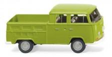 Wiking 031401 VW T2a DoKa Pritsche grün