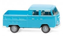 Wiking 031404 VW T2a DoKa Pritsche eisblau