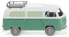 Wiking 031502 VW T2 Campingbus mintgrün/weiß