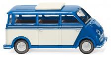Wiking 033402 DKW Schnelllaster Bus blau/perlweiß