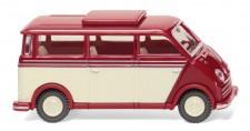 Wiking 033405 DKW Schnelllaster Bus rubinrot/elfenbein