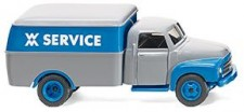 Wiking 035402 Opel Blitz Kasten WM Service