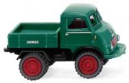 Wiking 036803 Unimog U401 mit Doppelreifen moosgrün