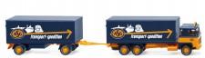 Wiking 045703 Scania 111 KHZ ASG Transporte