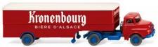 Wiking 051322 Saviem Hauber KSZ Kronenbourg