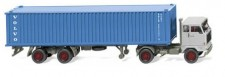 Wiking 052303 Volvo F89 40ft Container-SZ Volvo