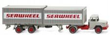 Wiking 052402 Magirus Deutz 2x20ft C-SZ Seawheel