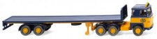 Wiking 055403 Scania 111 Flachpritschen-SZ ASG