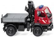 Wiking 060131 Unimog U20 mit Ladekran Feuerwehr
