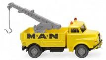 Wiking 063406 MAN Hauber Abschleppwagen MAN