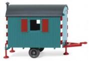 Wiking 065607 Bauwagen wasserblau