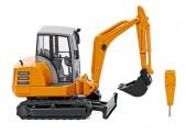Wiking 065806 Mini-Bagger HR 18 kommunalorange
