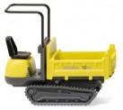 Wiking 066902 Neuson Track Dumper 15 zinkgelb