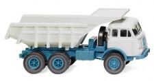 Wiking 067048 Henschel HS3-180 Mulden-Kipper blau/weiß