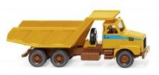 Wiking 067106 Volvo N10 Muldenkipper maisgelb