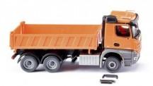 Wiking 067848 MB Arocs Dreiseitenkipper orange