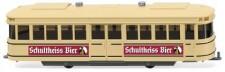 Wiking 074901 Straßenbahn-Anhänger Schultheiss-Bier